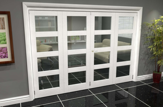White 4l Roomfold Grande (2 + 2 X 686mm Doors)