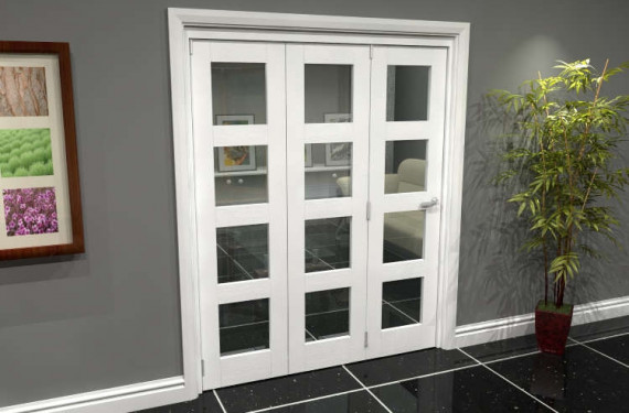 White 4l Roomfold Grande (3 + 0 X 533mm Doors)