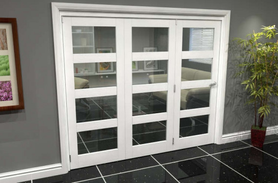White 4l Roomfold Grande (3 + 0 X 762mm Doors)