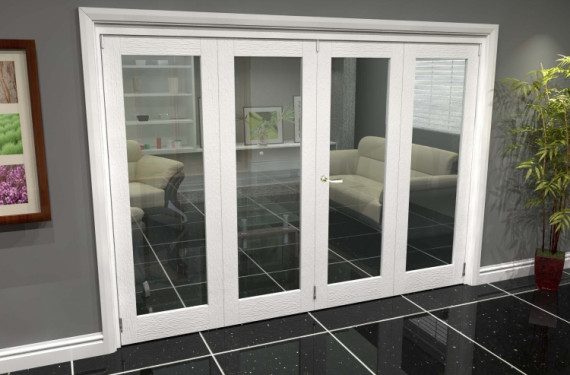 White P10 Roomfold Grande (2 + 2 X 762mm Doors)
