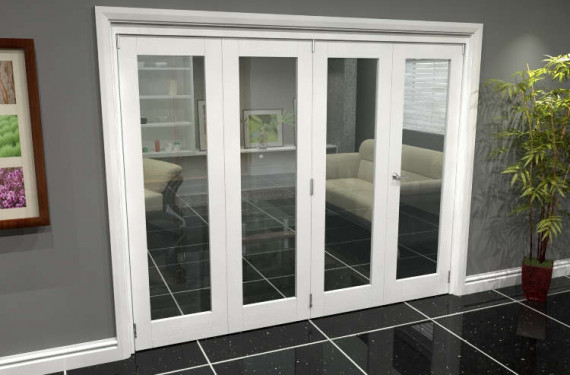 White P10 Roomfold Grande (3 + 1 X 610mm Doors)