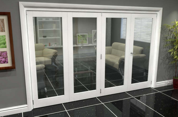 White P10 Roomfold Grande (3 + 1 X 762mm Doors)