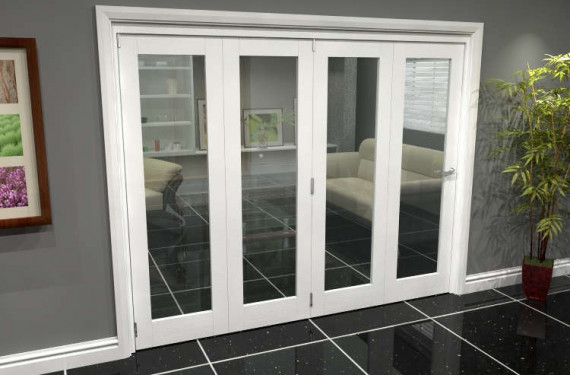 White P10 Roomfold Grande (4 + 0 X 610mm Doors)