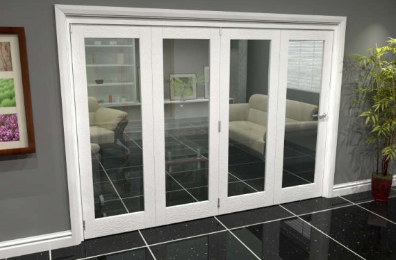 White P10 Roomfold Grande (4 + 0 X 686mm Doors)